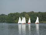 CVRDA Rally at Colemere S.C. 2002 - Yes, the lake was that beautiful....and No, the pegasus isn't leading! - Colemere 2002