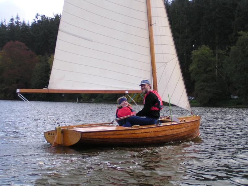 Vintage boat wing