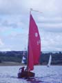 Tideway, carrying more flags than sails!