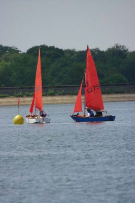 CVRDA rally at Bough Beech Sailing Club June 2009